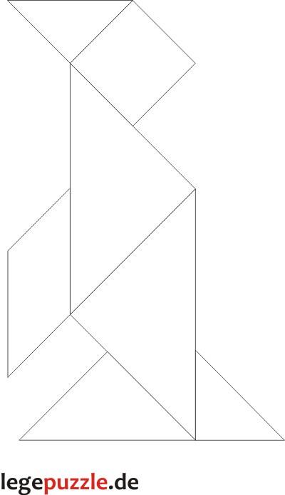 tangram lösung pinguin 4