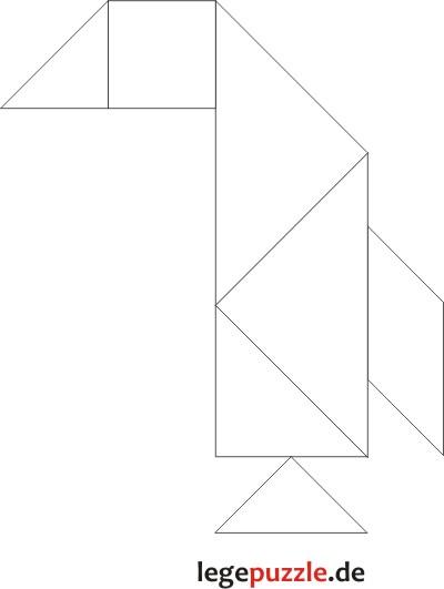 tangram lösung pinguin 5