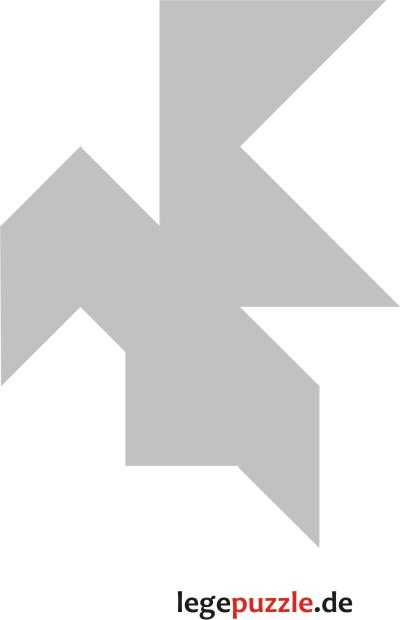 tangram vorlage vogel 11